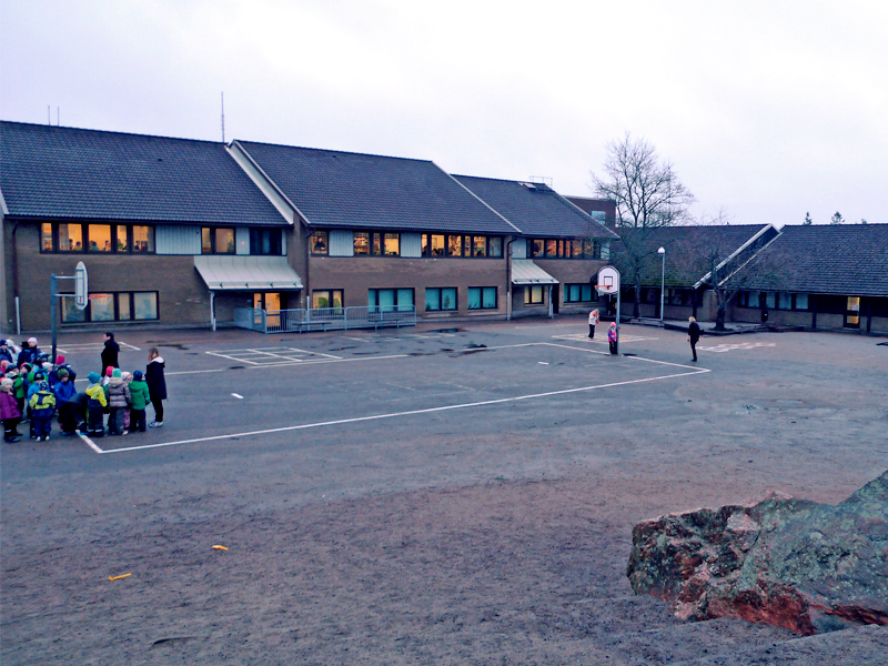 Strömslundsskolan - 50/50 Project